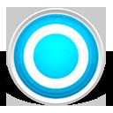 Blue, Circle, Round Icon