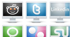 PC Social Media Icons