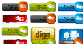 Power Up Your Digg Icons