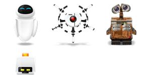 Wall E Icons