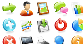 Web Application Icons Set Icons