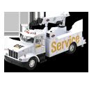 Service, Truck Icon