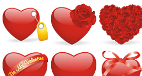 Valentines Love Icons
