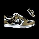 Camouflage, Dunk, Nike Icon
