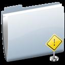 Folder, Sign, Stop Icon