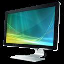 Monitor, Vista Icon