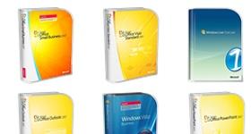 Microsoft 2007 Boxes Icons