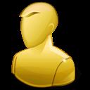 Anonymous, Regular, User, Yellow Icon