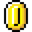 Coin, Retro Icon