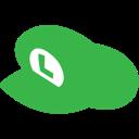 Hat, Luigi Icon