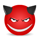 Devil, Smile Icon