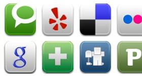 Social Me Icons
