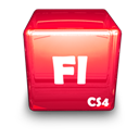 Adobe, Cs, Fl Icon
