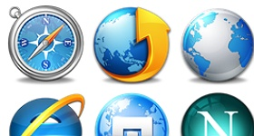 The Browsers Icons