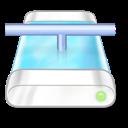 Blue, Drive, Network Icon