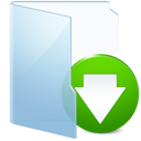 Blue, Download Icon
