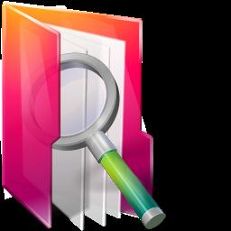 Aurora, Folders, Icontexto, Searches Icon