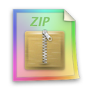 Files, Zip Icon
