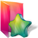 Aurora, Favorites, Folders, Icontexto Icon