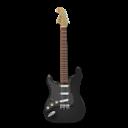 Black, Guitar, Stratocaster Icon
