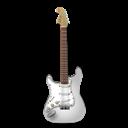 Guitar, Stratocaster, White Icon
