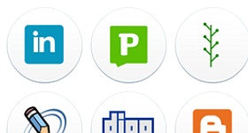 Web Social Icons