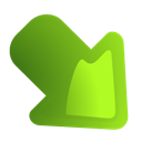 Arrow, Rightdown Icon