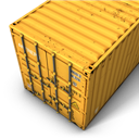 Container, Yellow Icon