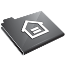 Grey, Home Icon