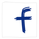 Facebook, White Icon