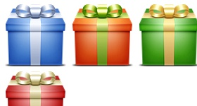 Gifts Box Icons