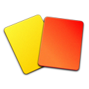 And, Card, Red, Yellow Icon