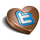 Chocolate, Twitter Icon