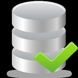 Accept, Database Icon