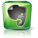 Detail, Evernote, High Icon