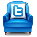 Armchair, Twitter Icon