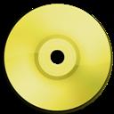 Cd, Dvd, Yellow Icon