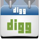 Calendar, Digg Icon