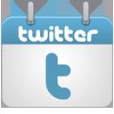 Calendar, Twitter Icon