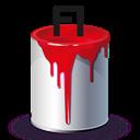 Bucket, Fl, Paint Icon