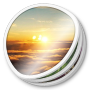 Photos, Round Icon