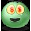 Emoticon, Money Icon