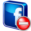 Delete, Facebook Icon