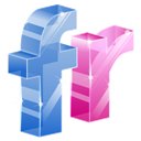 3d, Flickr Icon