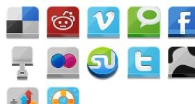 Lontar Social Site Icons