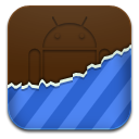 Android, Blue, Themes Icon