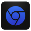 Blueberry, Chrome Icon