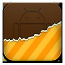 Android, Orange, Themes Icon