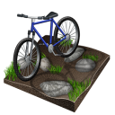 Biking, Cycling, Mountain Icon
