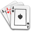 Aces, Cards, Game, Poker Icon